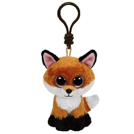 Slick Fox Beanie Boo Clip - Stuffed Animal by Ty (36613)