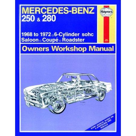 Mercedes-Benz 250 & 280 (68 - 72) Haynes Repair Manual (Haynes Service and Repair Manuals) (Paperback) (Mercedes 300td Service Manual)