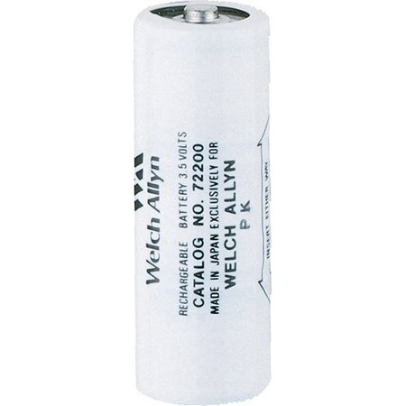 welch allyn 72200 3.5v nickel-cadmium rechargeable battery ()