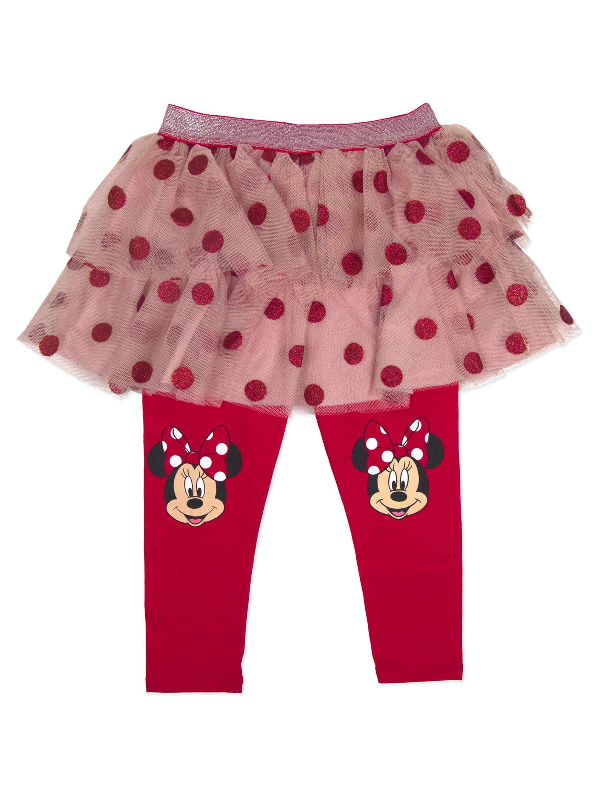 Minnie Mouse Little Girls' 4-6X Polka Dot Skegging