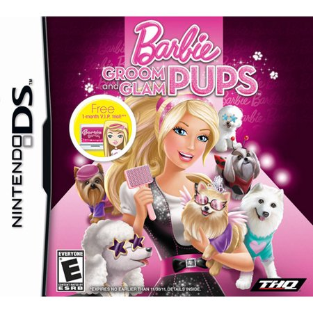 Barbie: Groom and Glam Pups (DS)