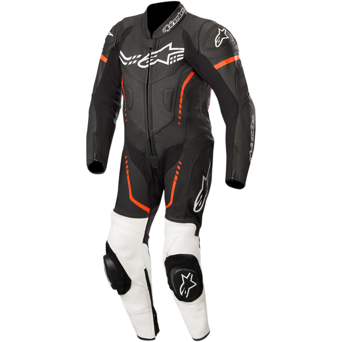 Alpinestars Youth Gp Plus Cup One-piece Leather Suit One-piece Suit (black/red/white, Euro Size 130)