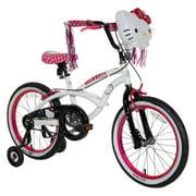 "18"" Hello Kitty Girls' Sidewalk Bike, White"