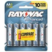 Ray-O-Vac 8156HEF Alkaline High Energy Batteries - AA