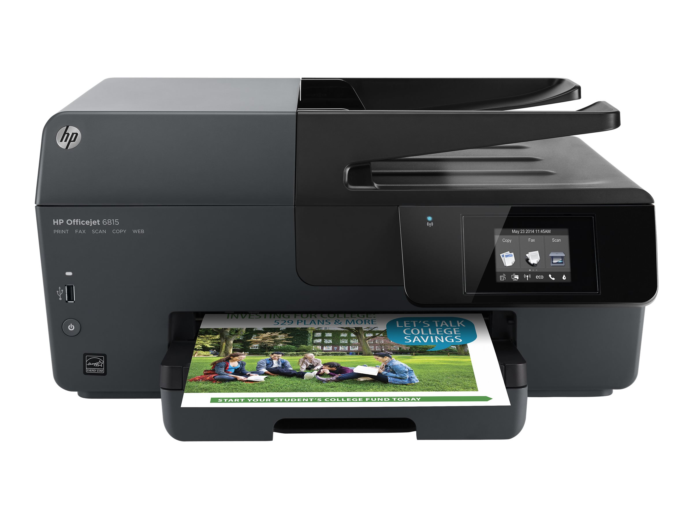 HP Officejet 6815 e-All-in-One multifunction printer (color) by HP