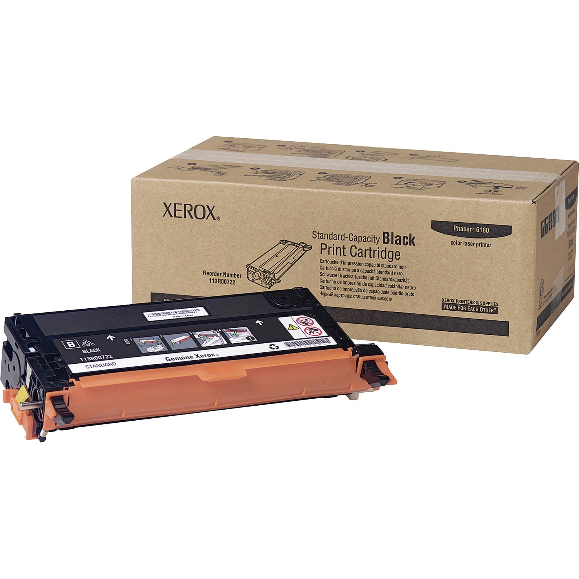 Xerox, XER113R00722, 113R00719/20/21/22 Print Cartridges, 1 Each