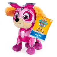 PAW Patrol, 8-Inch Mighty Pups Super PAWs Skye Plush, for Kids Aged 3 and Up