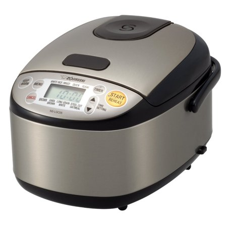 Zojirushi 3 Cup Stainless Steel Micom Rice Cooker & (Zojirushi 10 Cup Micom Rice Cooker & Warmer)