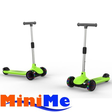 Gyrocopters- MiniMe Kids Kick Scooter with Adjustable Height and LED Wheels (Green) - image 1 of 12
