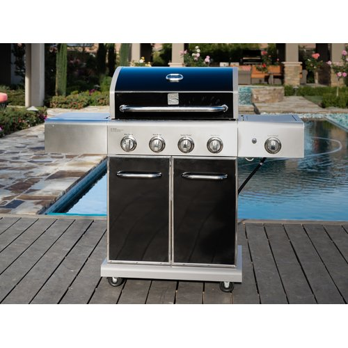 Kenmore 4 Burner Propane Gas Grill with Side Burner