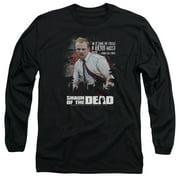 Shaun Of The Dead Hero Must Rise Mens Long Sleeve Shirt