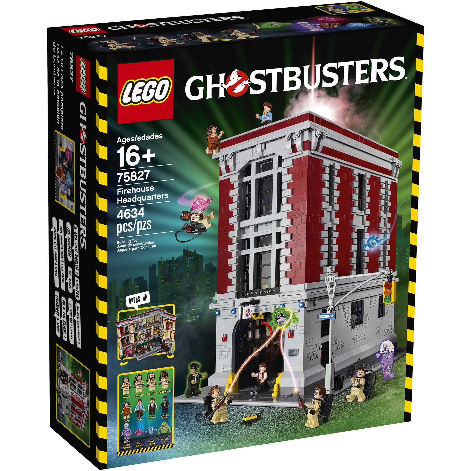 Lego Ghostbusters Firehouse Headquarters, 75827 by LEGO Systems, Inc.