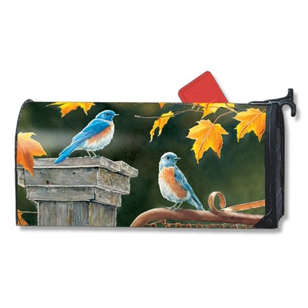 Magnet Works Bluebird Meeting Magnetic Mailbox Wrap Cover
