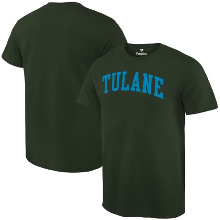 Tulane Green Wave Fanatics Branded Basic Arch Expansion T-Shirt - Green