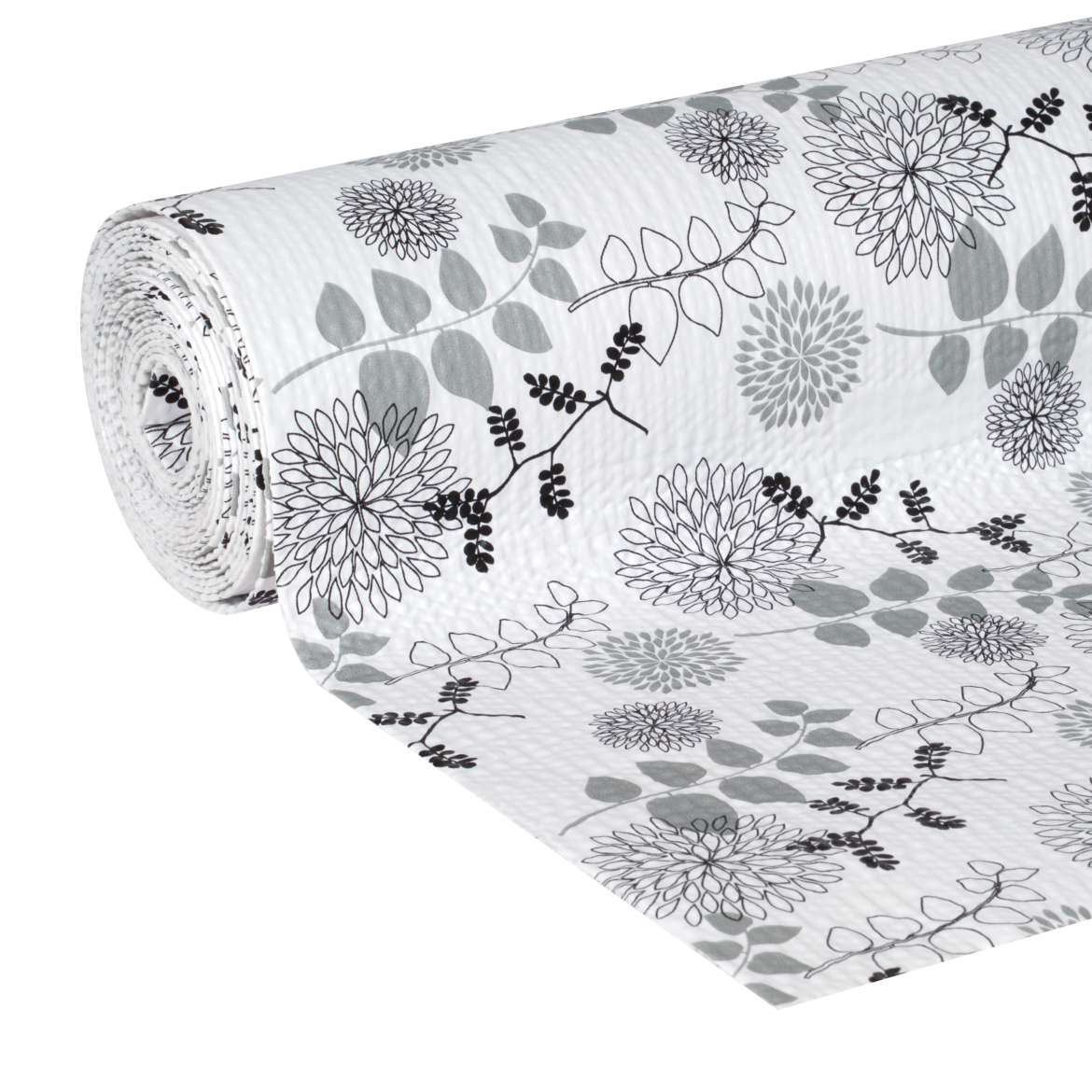 "Duck Brand, Smooth Top Easy Liner, Shelf Liner, 20""x 6', Midnight Bloom"