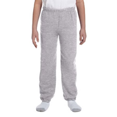 Youth Heavy Blend™ 13.3 oz./lin. yd., 50/50 Sweatpants - ASH - XL - image 1 of 1