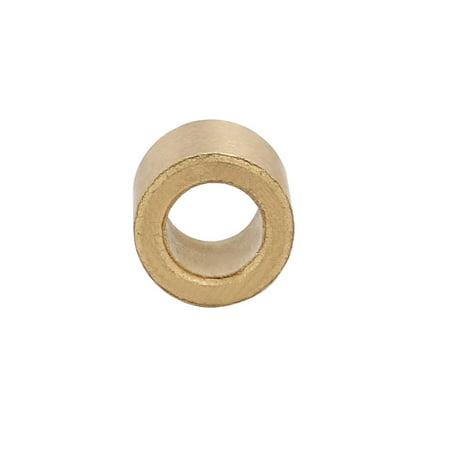 4pcs 6mmx10mmx8mm Poudre métallique Manchon Bronze Bague palier - image 1 de 3
