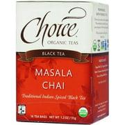 Choice Organic Teas Black Tea Masala Chai - 16 Bags