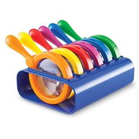 Learning Resources Jumbo Magnifiers Set, Set of 6, Ages 3+