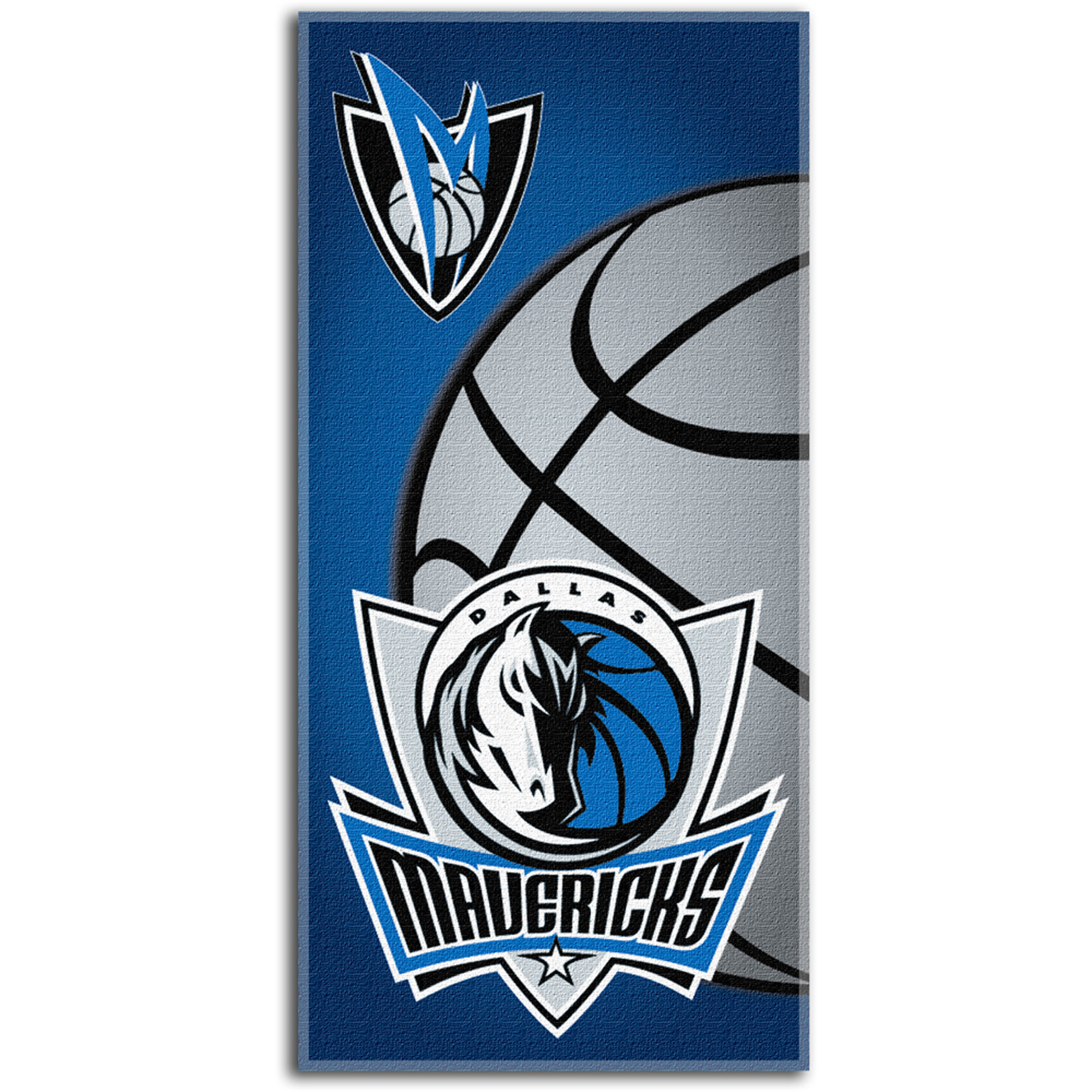 NBA Beach Towel Emblem Series, Dallas Mavericks
