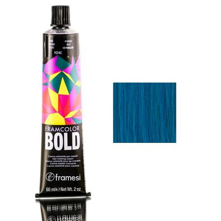 Framesi FramColor Bold Hair Coloring Cream - Cobalt Blue / 2 (Cobalt Blue Cream)