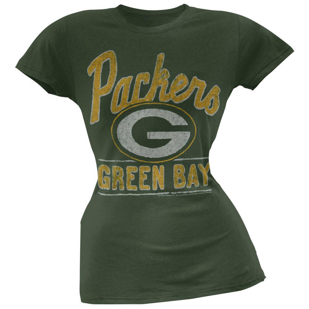 Green Bay Packers - Kick Off Juniors T-Shirt