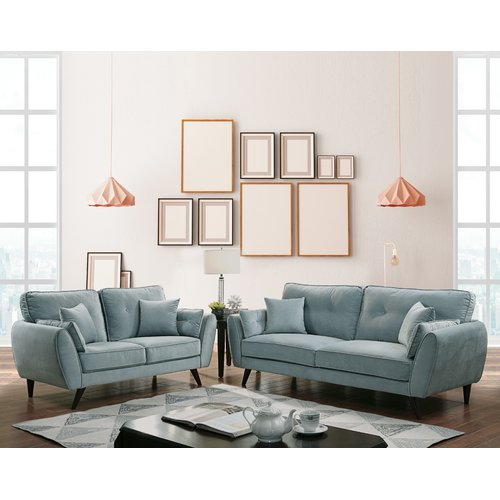 Latitude Run Pamila Loveseat