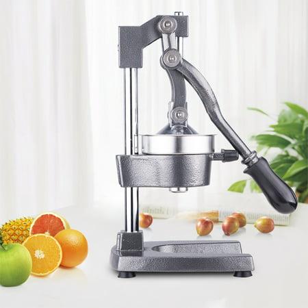 Commercial Grade Manual Fruit Juicer Machine For Restaurant Home Use Grey