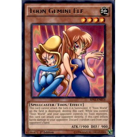 YuGiOh Battle Pack 3 Monster League Toon Gemini Elf BP03-EN014