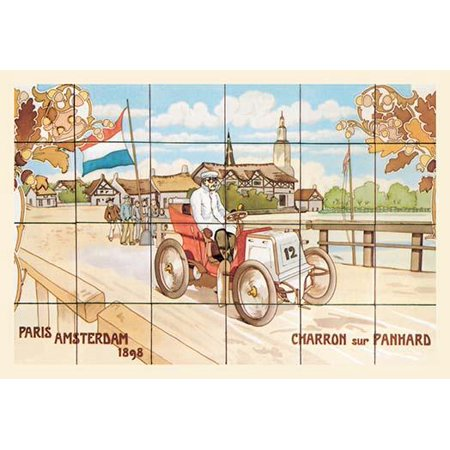 The 1898 ParisAmsterdamParis Race was a competitive city to city motor race which ran over 7 days from 713 July 1898 and covered 1431 km It was won by Fernand