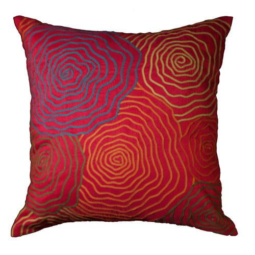18 Inch Azuma Geranium Pillow