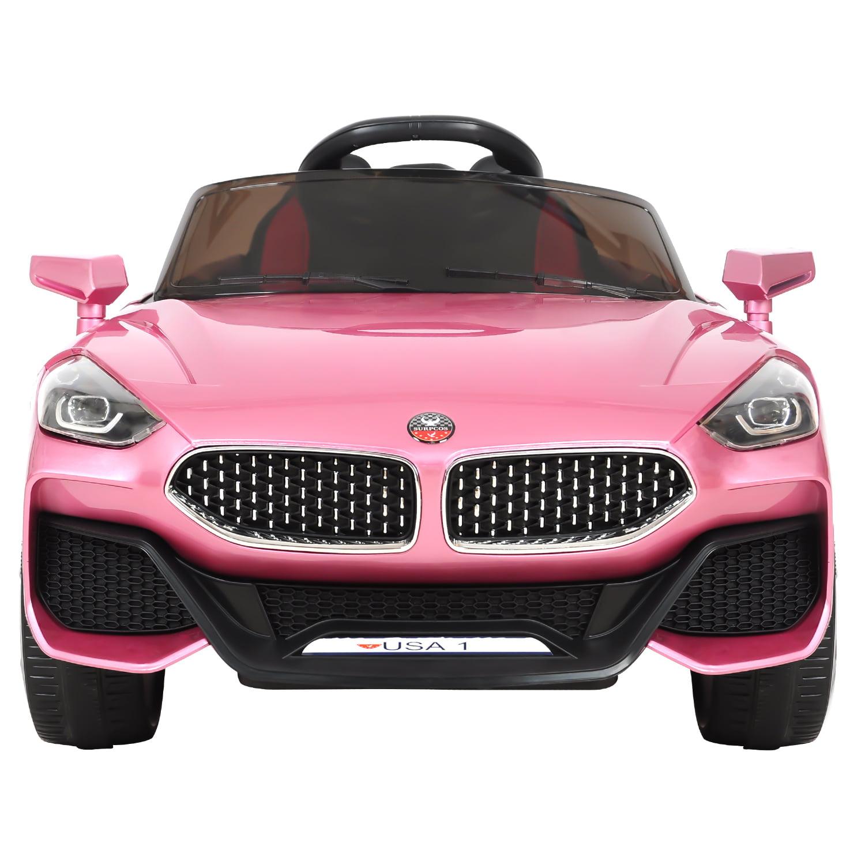 12V Kids Ride On Car For Girl Parental Remote Control