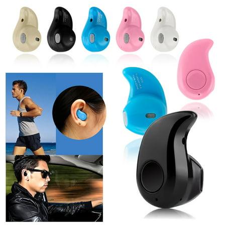 (Mini Wireless Bluetooth 4.0 Stereo In-Ear Headset Earphone Earbud Earpiece)