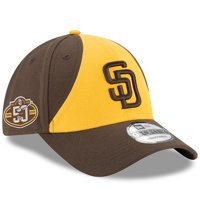 7ced9778 Product Image San Diego Padres New Era 50th Anniversary The League 9FORTY Adjustable  Hat - Gold/Brown