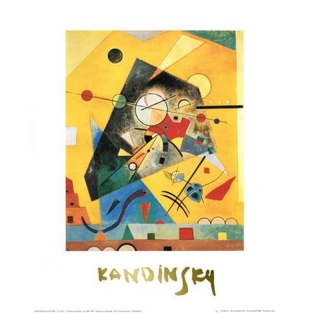 Wassily Kandinsky Artwork - Quiet Harmony Art Print  By Wassily Kandinsky