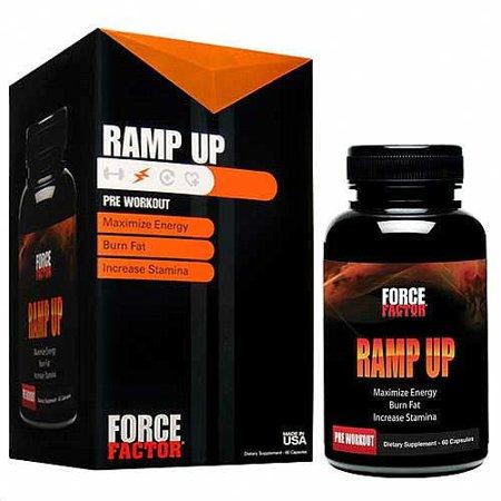 Factor de fuerza rampa hasta 60 tabletas quemador de grasa Dieta píldora de energía Maximizer