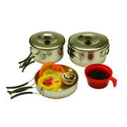 Texsport Cookware Set, STNLS Steel - 13430