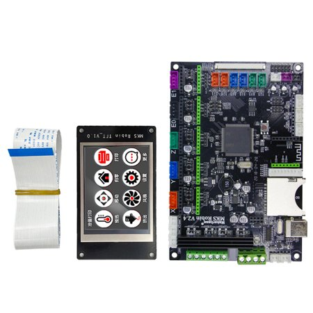 3D Printer MKS Robin STM32 Integrated Circuit Main Controller Source  Software With Display Screen Stable Control Board