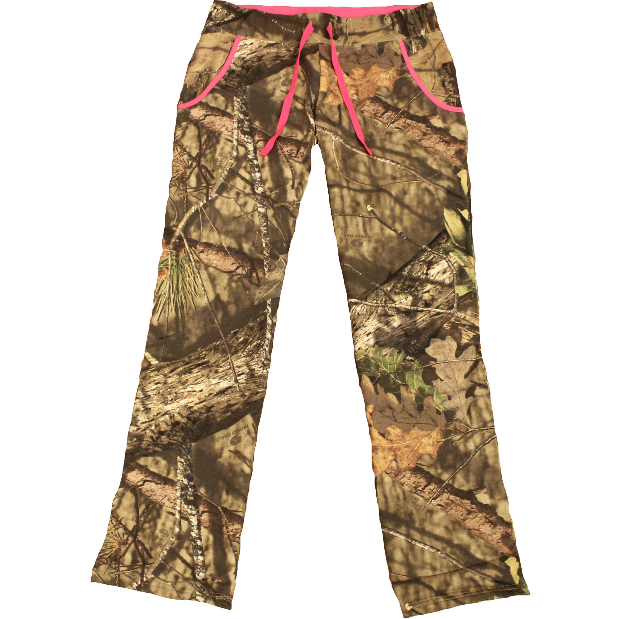 Mossy Oak Women's Fleece Camo Sweatpants, MO Country by