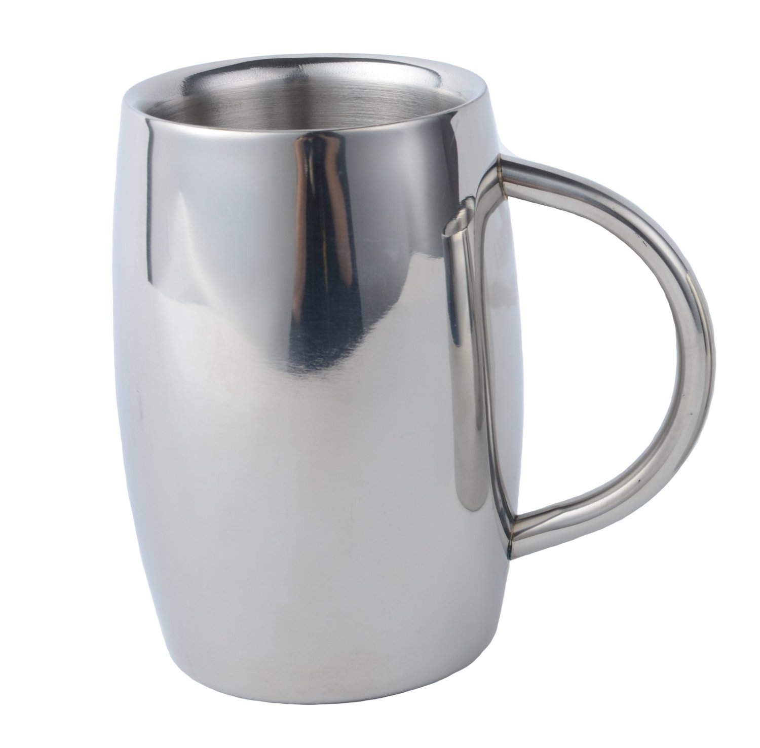 Braveness Stainless Steel Beer Mug Keep Your Beer Colder & Coffee Hotter Longer Than Any... by