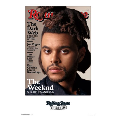 30rd Magazine - Trends International Rolling Stone Magazine The Weeknd Wall Poster 22.375