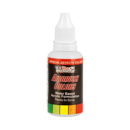 US Art Supply 1-Ounce Special Effects White Pearl Airbrush Paint