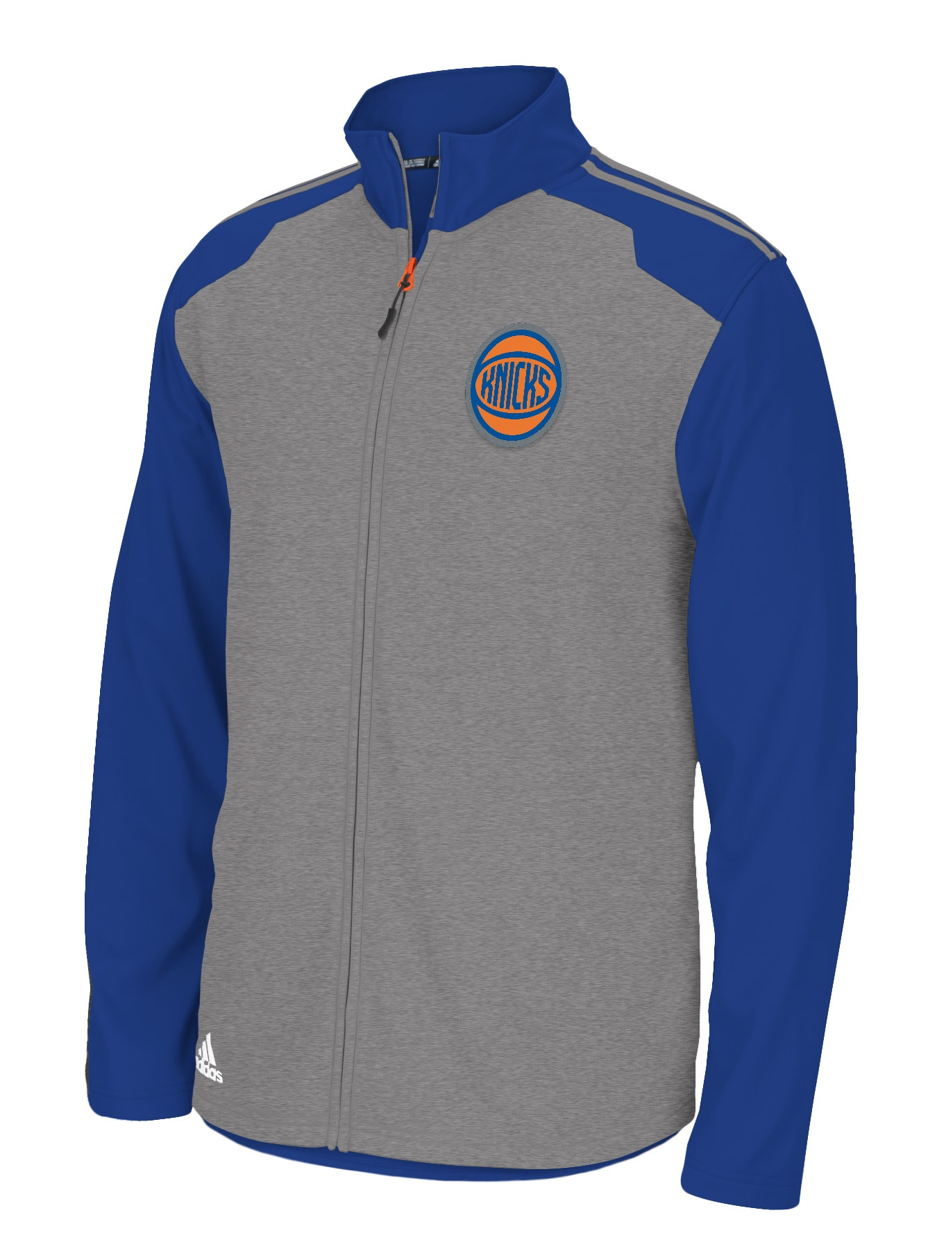 New York Knicks Adidas 2014 NBA Climawarm Full Zip Men's Fleece Jacket by Adidas