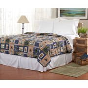 Ashley Cooper Lakehouse Quilt in King Size 102 in x 86 in