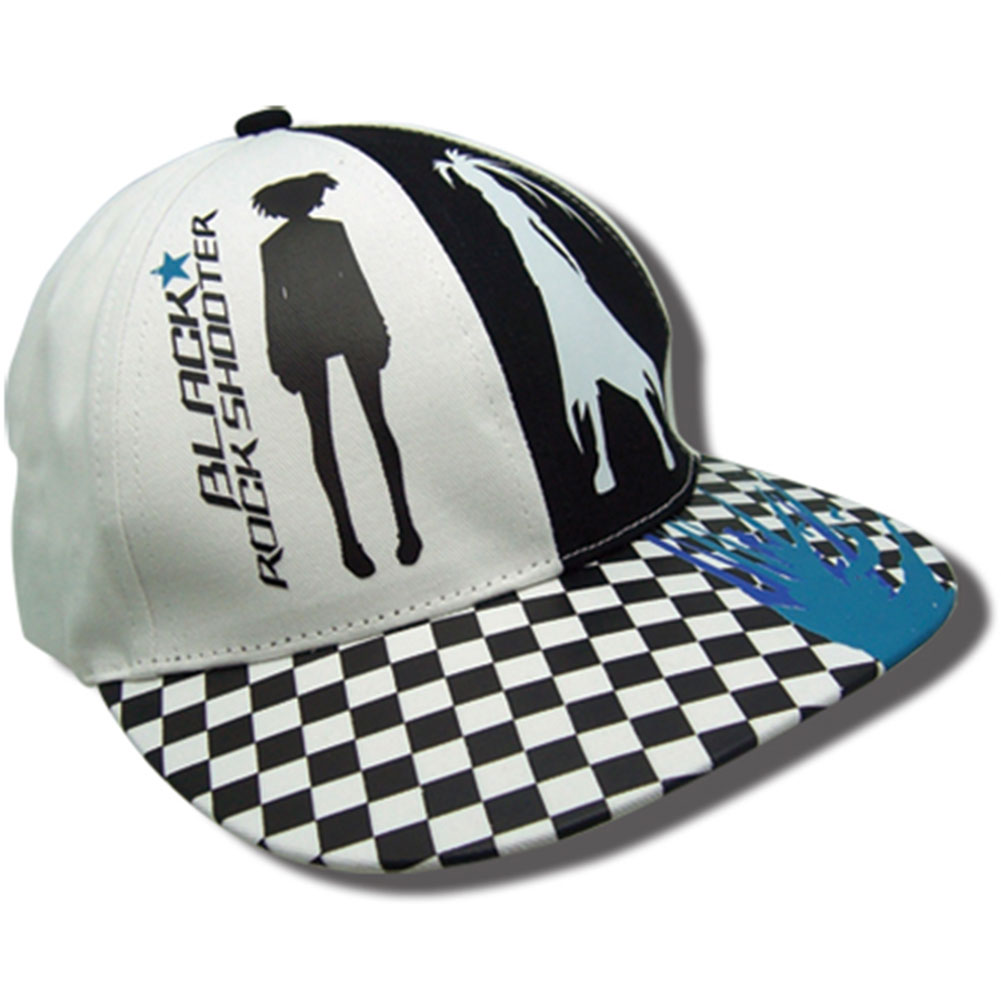 Black Rock Shooter Men's Black Rock Shooter Tucker Anime Bucket Cap