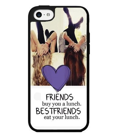 Ganma Fun inchFriends Buy You Lunch, Best Friends Eat Your Lunchinch Rubber Case For iPhone X, 10 ( 5.8