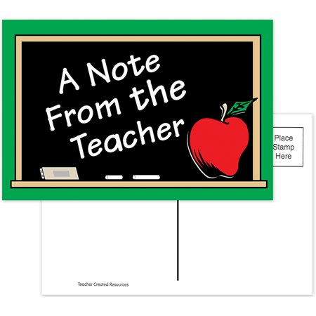 A NOTE FROM THE TEACHER 30PK POSTCARDS (Teacher 2 Postcards)