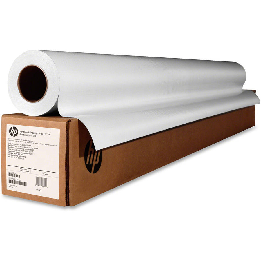 HP Universal Photo Paper Roll, White