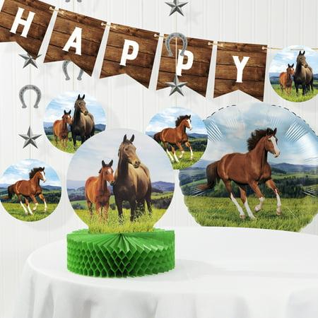 Wild Horse Birthday Decorations Kit ()