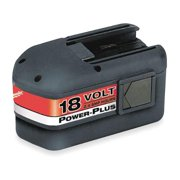 MILWAUKEE Standard Battery,  18.0 Voltage,  NiCd 48-11-2230